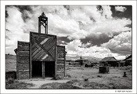 Firehouse, Bodie Ghost Town, California, 2009