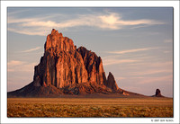 Shiprock, First Light, New Mexico, 2007