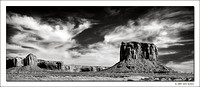 Mitchell Butte, Monument Valley Navajo Tribal Park, 2007