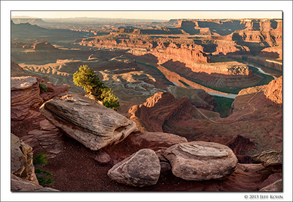 First Light, Dead Horse Point, Utah, 2015